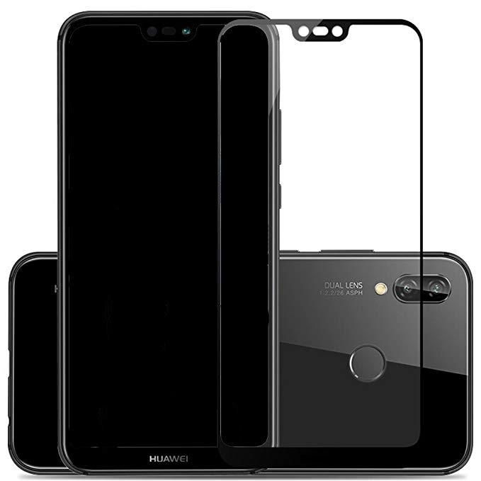 Tia TIYA Huawei P20 phim kính cường lực Toàn màn hình bìa 2 miếng P20 phim điện thoại di động HD màn