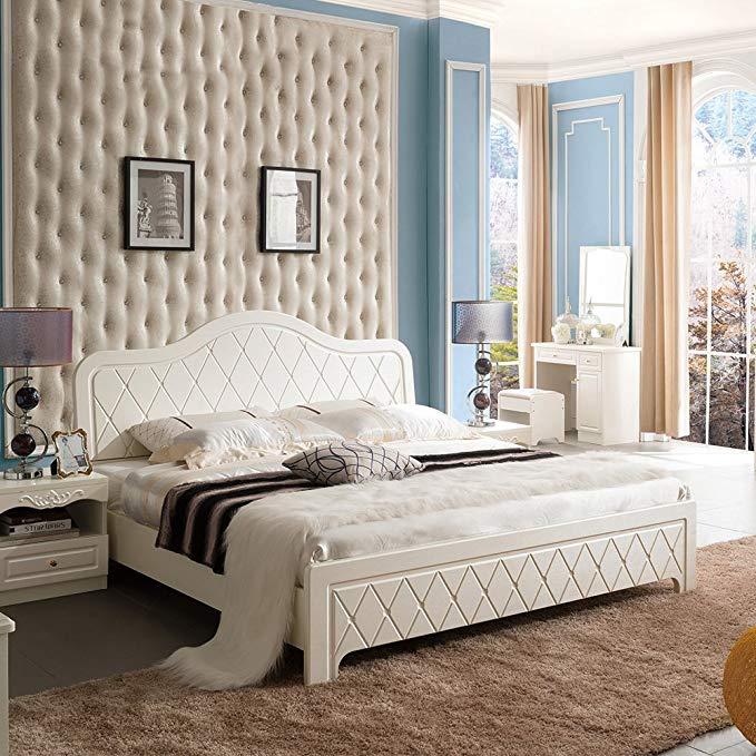 Nội Thất Phòng Ngủ : Giường Ngủ với Thiết kế hoàng gia sang trọng.