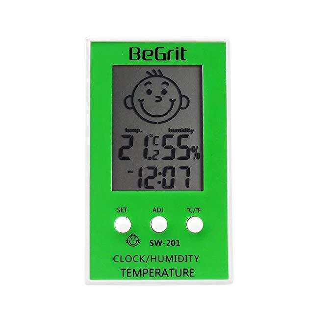 Begrit máy đo nhiệt kế độ ẩm trong nhà .