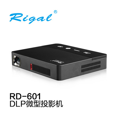 Rigal RD-601 pico chiếu DLP chiếu máy chiếu xách tay chiếu nhà