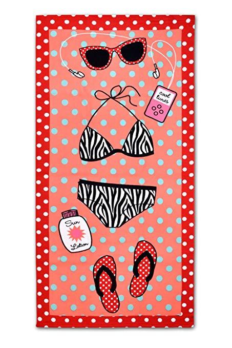 ACE Chọn 139.7 x 68.6 cm khăn tắm phụ thấm mềm mại và thoải mái tắm của phụ nữ bọc sợi nhỏ du lịch /