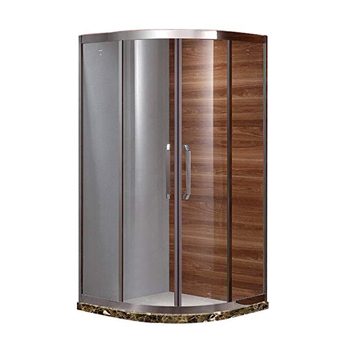 Bồn đứng tắm : Phòng tắm Bằng kính cường lực Thiết kế đơn giản .