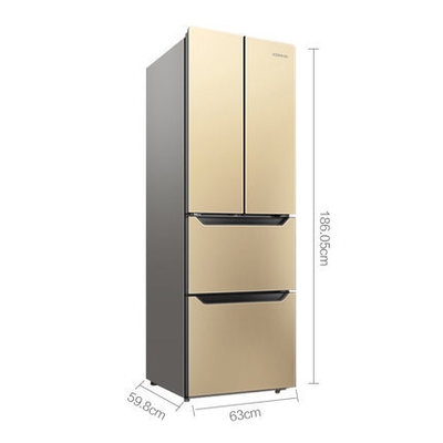 Konka / 康佳 BCD-300EGX4SU ba cửa tủ lạnh nhà đôi cửa đa cửa đôi cửa tủ lạnh