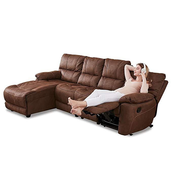 Nội Thất căn hộ : Bộ ghế sofa cao cấp Màu cà phê