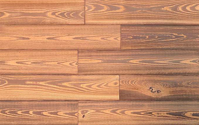 Tấm ốp tường bằng gỗ thông minh SPCY521, vàng