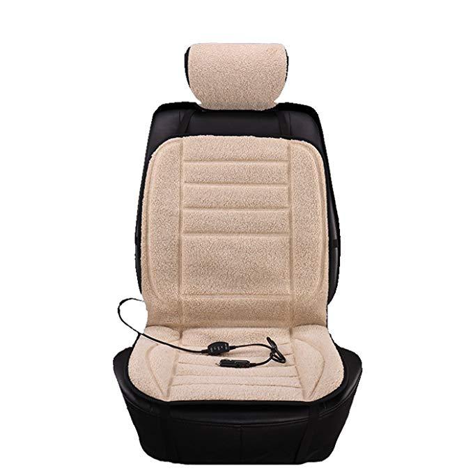 Đệm giữ ấm cơ thể  bằng điện dành cho xe hơi .