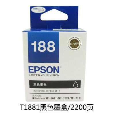 Mực in Epson 188 gốc T1881 WF-3641 7111 7621 Gốc xác thực Với hóa đơn