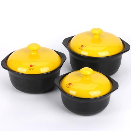 Kangshu soong hộ gia đình lửa soong công suất lớn súp màu hầm nồi chịu nhiệt gốm cháo nồi canh nồi