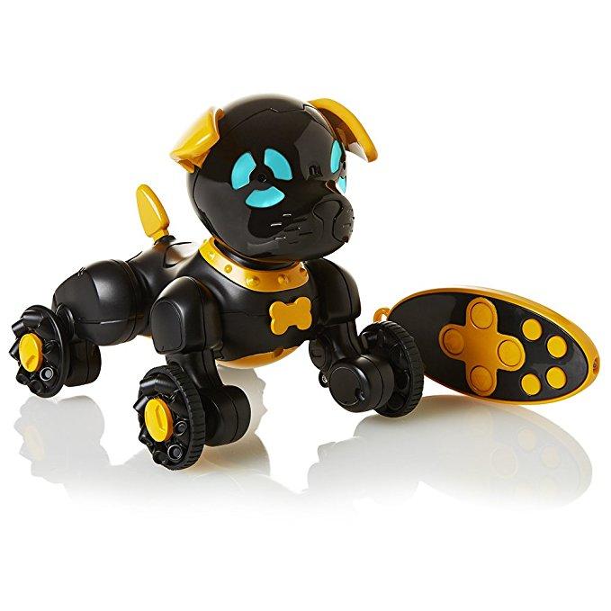 WowWee Chippies Robot Đồ chơi Chó - Chippo (Màu đen)