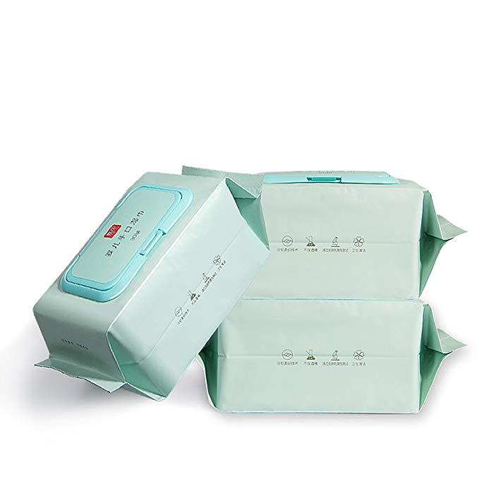 Tân Bắc tay em bé khăn lau ướt đặc biệt pp khăn lau ướt 80 bơm với bìa * 3 thậm chí đóng gói bé nước