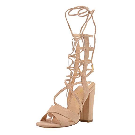 Dép ren-up của phụ nữ với giày cao gót - Trang phục chính thức, đám cưới, tiệc đơn giản cổ điển