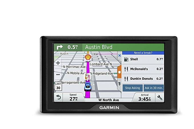 Hệ thống Điều hướng và định vị GPS GARMIN DRIVE 50 USA + đen 6 inch .