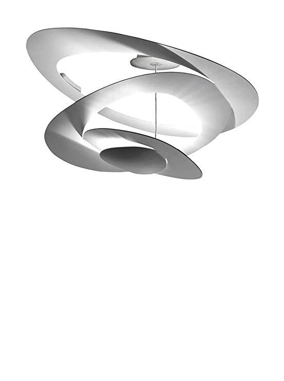 Đèn chùm mini Artemide Pirce, Ø67 H 36 cm, màu trắng