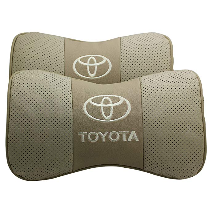 Da xe cổ gối tựa đầu thoải mái Toyota Vios / Corolla / Reiz / Prius / Prado / RAV4 / Corolla / vương
