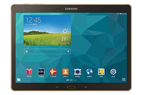 Samsung Samsung GALAXY Tab S T805C 10.5 inch 4G máy tính bảng màu nâu 2560 × 1600 độ phân giải màn h