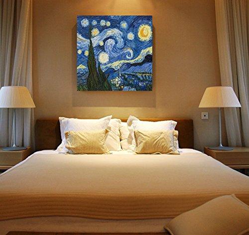 Bihua phải vẽ frameless ngủ cạnh giường ngủ phong cách Địa Trung Hải sơn trang trí retro tranh phòng