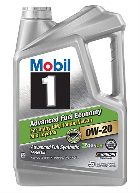 Thị trường bảo dưỡng : Dầu Mobil 1 Oil 0W20 - 5 Quarts (Phiên bản Hoa Kỳ )