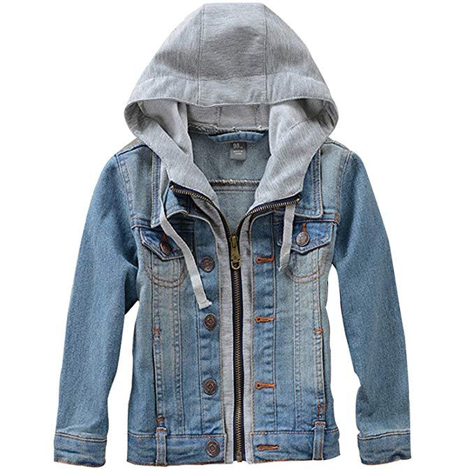 Tiến sĩ Barra Mùa Xuân và mùa hè trẻ em mới của quần áo trẻ em trai và cô gái denim jacket trẻ em lớ