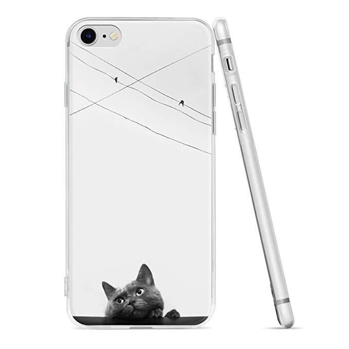 Natusun Natuson Apple iPhone 7 vỏ điện thoại di động iPhone 8 Painted Điện thoại di động trường hợp