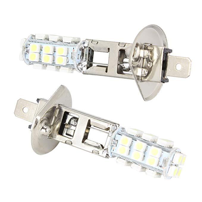 Đèn pha LED Merdia Metia Đèn sương mù H1 Đèn xe hơi Đèn trắng (đôi) (Đèn H1-28 - đèn trắng)