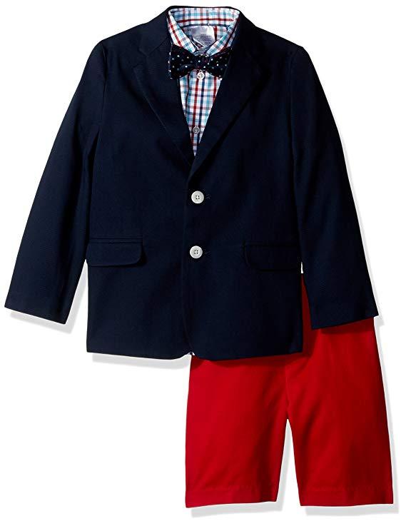 Bộ áo vest sơ mi và quần dài cho trẻ em IZOD