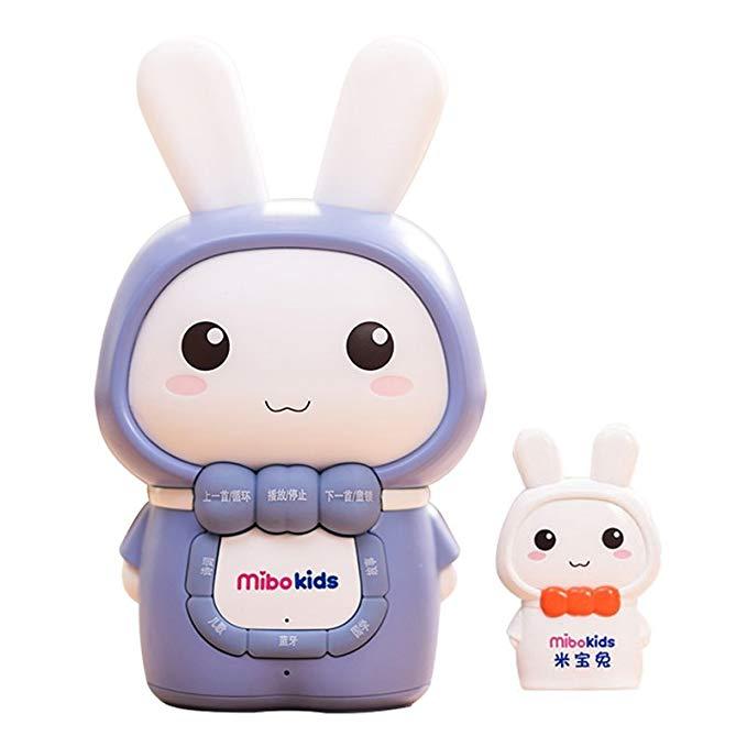 Máy kể chuyện, đố vui hình thỏ có bluetooth MIBAOTU