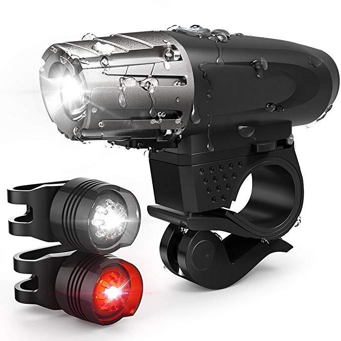 Đèn xe đạp chống thấm nước, dễ lắp đặt BESTSUN