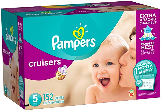 Tã Giấy cho trẻ sơ sinh hiệu Pampers .