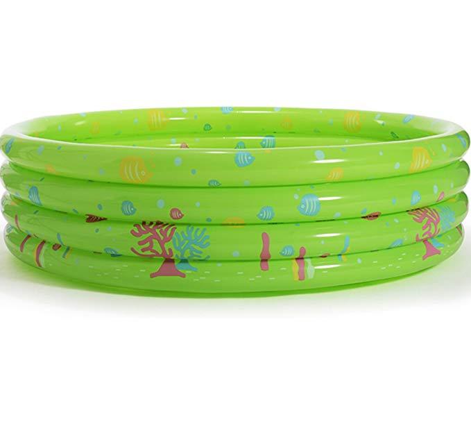 Bể bơi trẻ em hình tròn màu xanh lá PENGYI