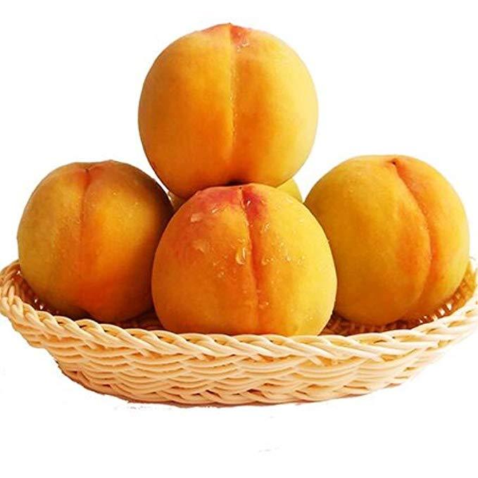 Trái cây tươi : Wutai Qủa đào vàng , giòn ngọt thơm ngon