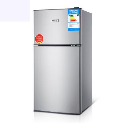 102L hộ gia đình đôi cửa tủ lạnh lạnh công suất lớn lưu trữ đông lạnh tủ lạnh tiết kiệm năng lượng c