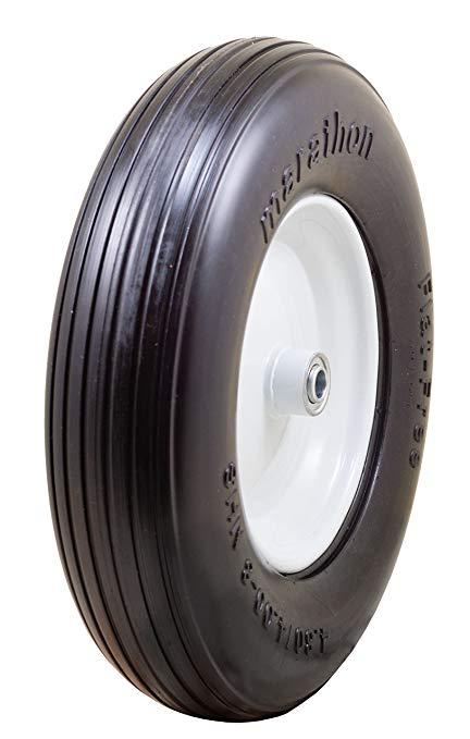 Lốp bánh xe 7.62cm, vòng bi 1.59cm , Marathon 4.80 / 4.00-8 .