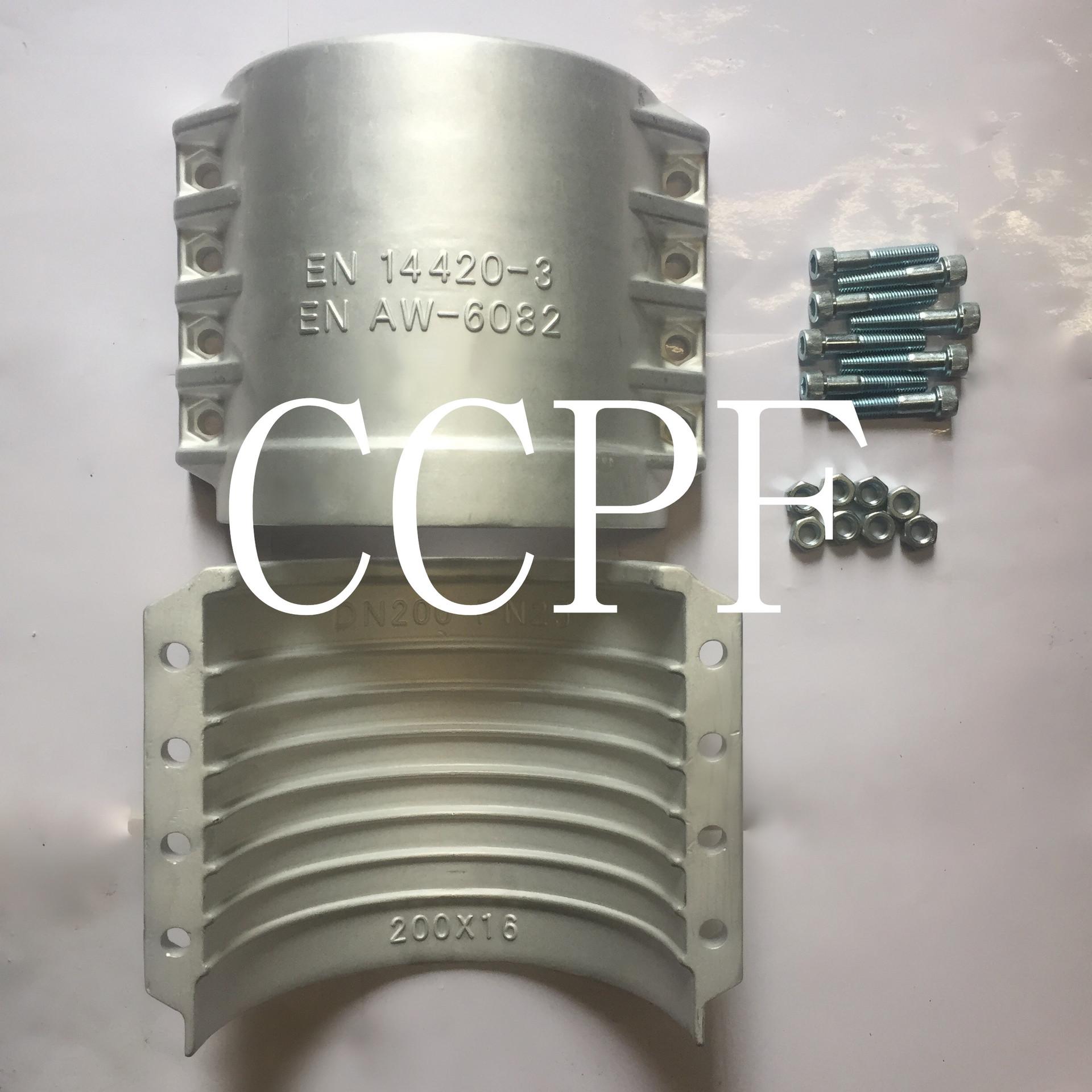 Bộ phận an toàn đường ống 200*16 DN200 DIN2817 clip