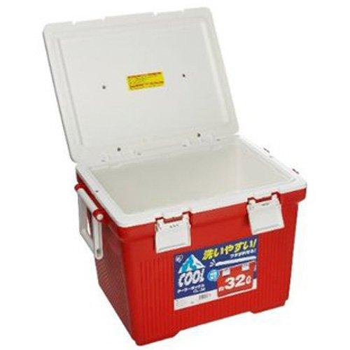 IRIS Alice Nhựa Môi Trường Cách Nhiệt Tủ Lạnh CL-32 Red (Thịt Nướng Câu Cá Chuyến Đi Chơi Dã Ngoại)