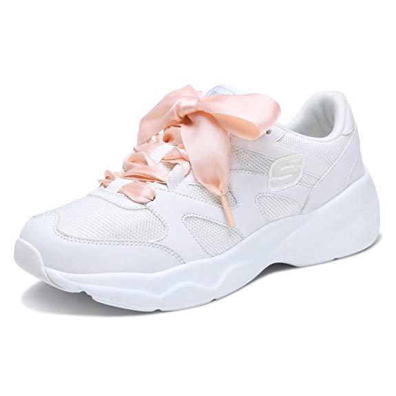 Skechers SKECHERS D'LITES AIRY Bộ Sưu tập Phụ nữ Dây đeo thời trang Sneakers 88888162-WLPK