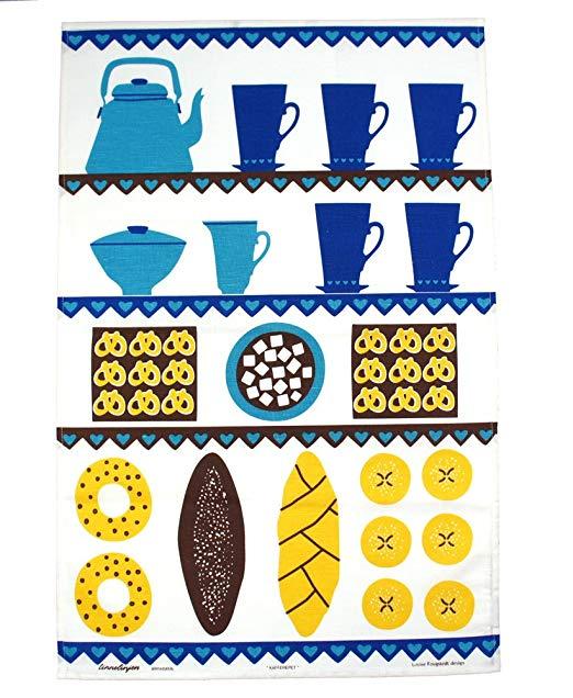 Almedahls cà phê và bánh chè khăn, nhiều màu