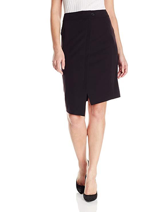 Váy nữ công sở màu đen Anne Klein