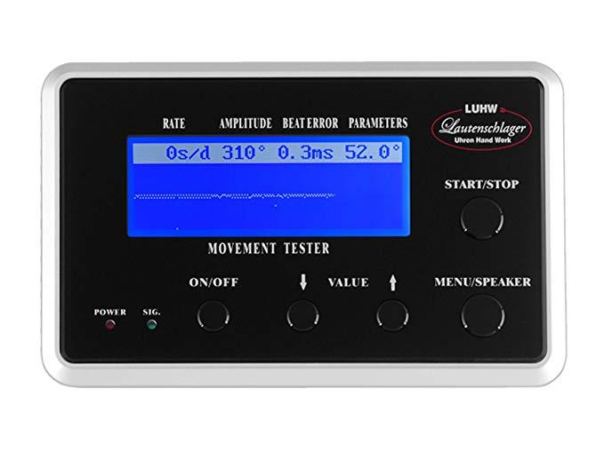 LUHW  đồng hồ đo tự động , đen LU-11000BK