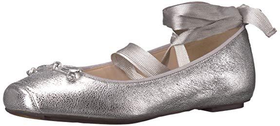 Giày múa ballet nữ màu ánh bạc Cole Haan Downtown