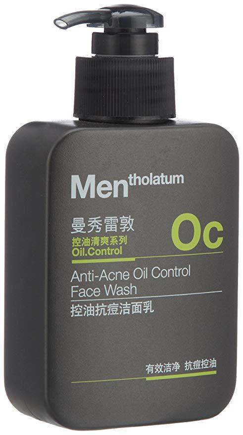 Mentholatum Men kiểm soát dầu chống mụn rửa mặt 150ml (bao bì mới và cũ Phân phối ngẫu nhiên)