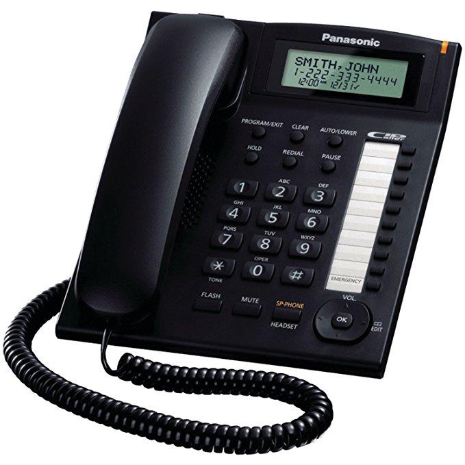 Panasonic KX-TS880B tích hợp dây điện thoại
