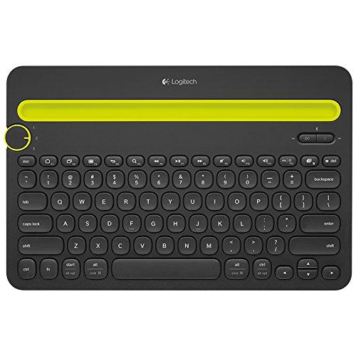 Logitech Logitech đa chức năng thiết bị thông minh bàn phím Bluetooth K480-Black hỗ trợ Ipad