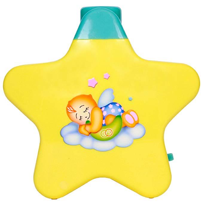 Đèn ngôi sao màu vàng có âm thanh cho trẻ Goodway