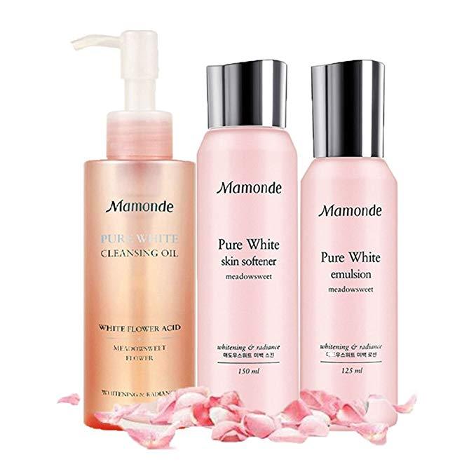 Giấc mơ trang điểm Mamonde hoa làm sáng cây chăm sóc da dưỡng ẩm làm trắng giữ ẩm và làm sáng thích