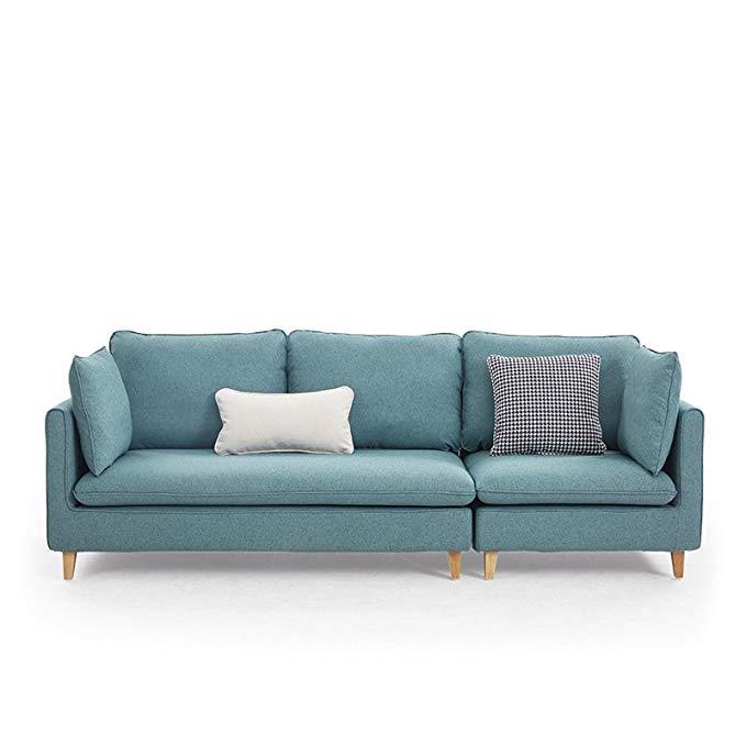 Nội Thất căn hộ : Bộ ghế sofa cao cấp với thiết kế hiện đại và đơn giản .
