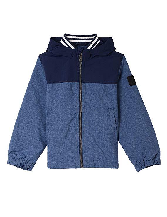 Áo khoác bé trai tay dài xanh Nautica