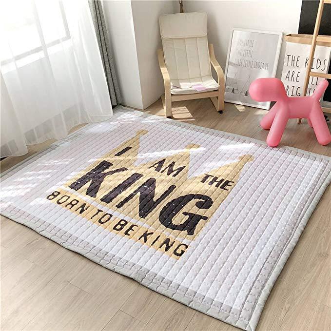 J.H.Longess gốc thương mại nước ngoài chuyến bay cờ vua mat thảm trẻ em có thể giặt bò mat bò thảm t