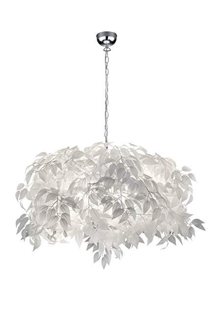 Thực tế Leuchten R60463001 Leavy ánh sáng trần trắng 70 x 70 x 150 cm