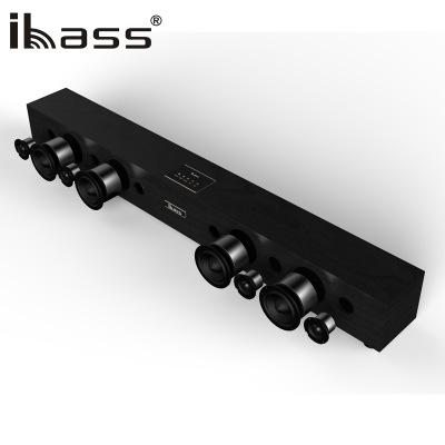 Ibass 1800 S thì thầm tường âm thanh TV loa bằng gỗ đồng trục dải âm thanh rạp hát tại nhà