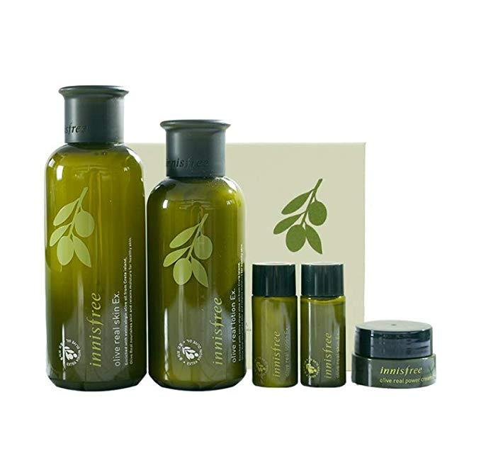 Dòng sản phẩm Olive Oil Series Olive Oil Series (Toner 200ml + Emulsion 160ml + Toner 15ml + Lotion